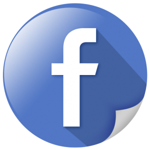 Facebook_Social-Network-Communicate-Page-Curl-Effect-Circle-Glossy-Shadow-Shine